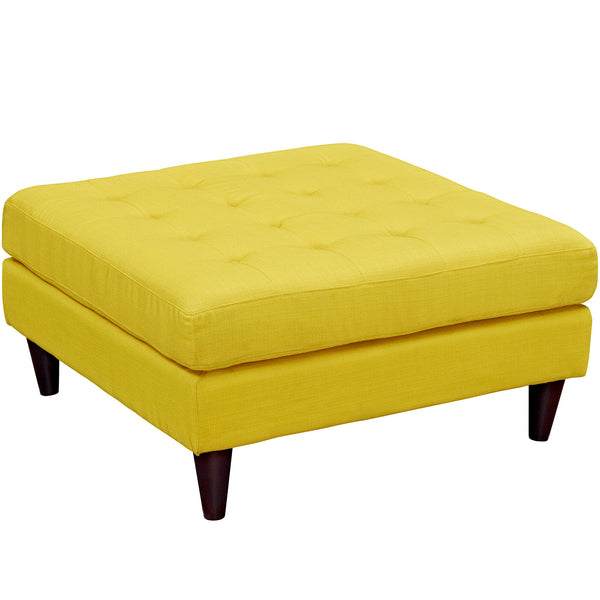 Ottomans - Modway EEI-2139-LGR Empress Upholstered Large Ottoman | 889654040897 | Only $276.75. Buy today at http://www.contemporaryfurniturewarehouse.com