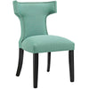 Dining Chairs - Modway EEI-2221-LAG Curve Fabric Dining Chair Studded Nailhead Trim | 889654065456 | Only $125.05. Buy today at http://www.contemporaryfurniturewarehouse.com
