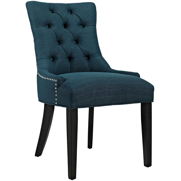 Dining Chairs - Modway EEI-2223-AZU Regent Fabric Dining Chair With Studded Nailhead Trim | 889654065524 | Only $118.50. Buy today at http://www.contemporaryfurniturewarehouse.com