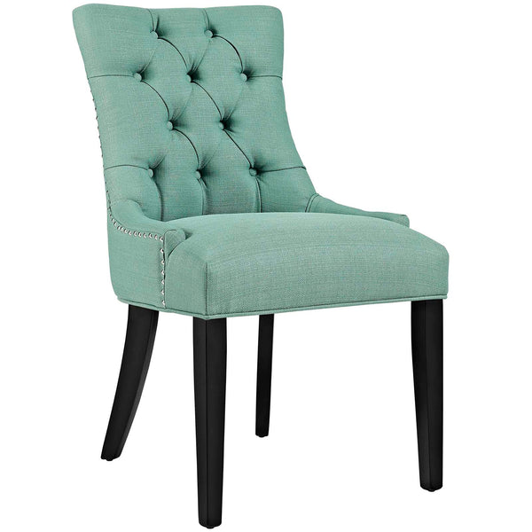 Dining Chairs - Modway EEI-2223-LAG Regent Fabric Dining Chair With Studded Nailhead Trim | 889654065586 | Only $118.50. Buy today at http://www.contemporaryfurniturewarehouse.com