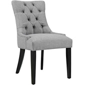 Modway Regent Fabric Dining Chair With Studded Nailhead Trim EEI-2223-LGR | 889654065593| $118.50. Dining Chairs - . Buy today at http://www.contemporaryfurniturewarehouse.com