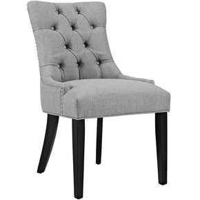 Dining Chairs - Modway EEI-2223-LGR Regent Fabric Dining Chair With Studded Nailhead Trim | 889654065593 | Only $118.50. Buy today at http://www.contemporaryfurniturewarehouse.com