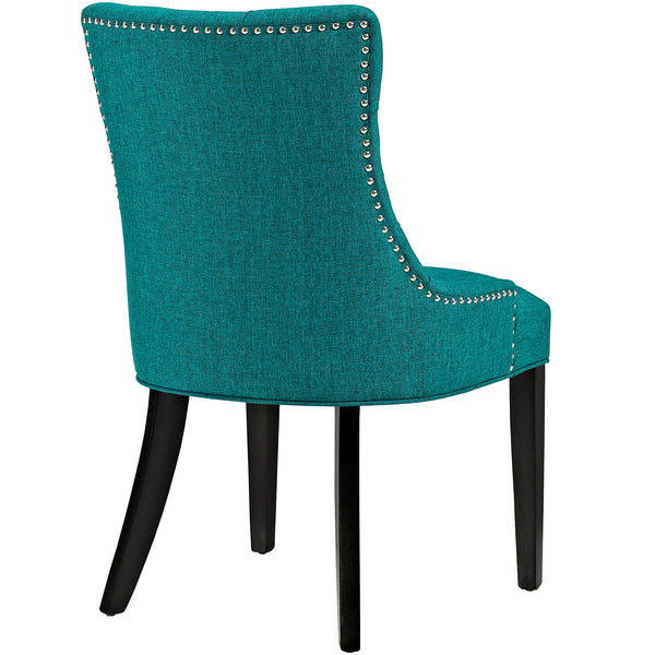 Regent Fabric Dining Chair With Studded Nailhead Trim
