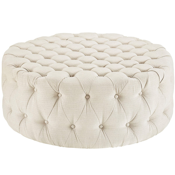 Amour Fabric Ottoman | Modern Ottoman by Modway at Contemporary Modern Furniture  Warehouse - 3