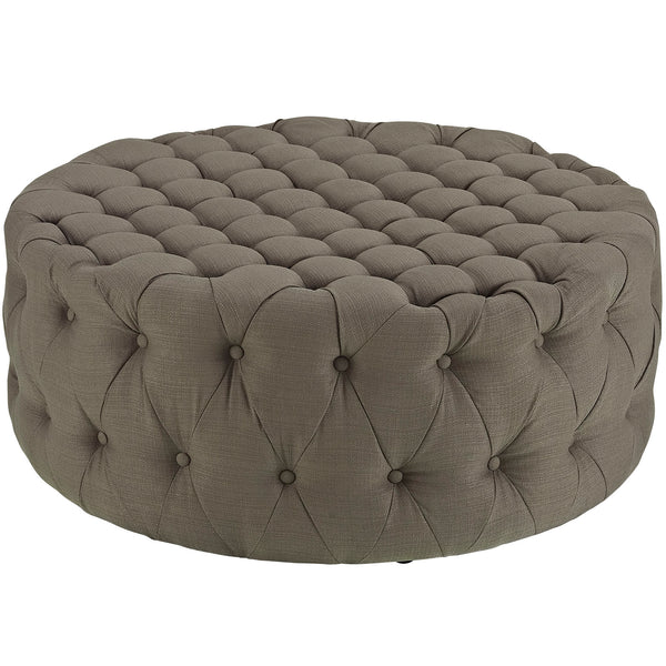 Amour Fabric Ottoman | Modern Ottoman by Modway at Contemporary Modern Furniture  Warehouse - 5
