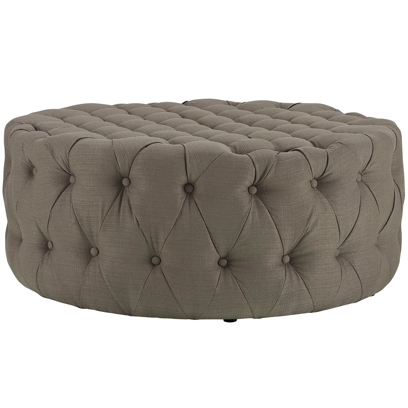 Modway Eei 2225 Bei Amour Large Round Upholstered Tufted
