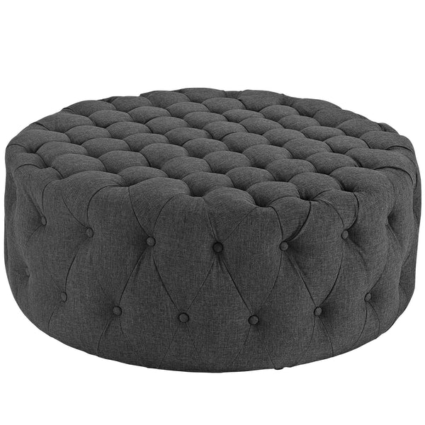 Amour Fabric Ottoman | Modern Ottoman by Modway at Contemporary Modern Furniture  Warehouse - 7