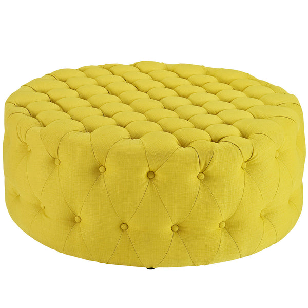 Amour Fabric Ottoman | Modern Ottoman by Modway at Contemporary Modern Furniture  Warehouse - 12