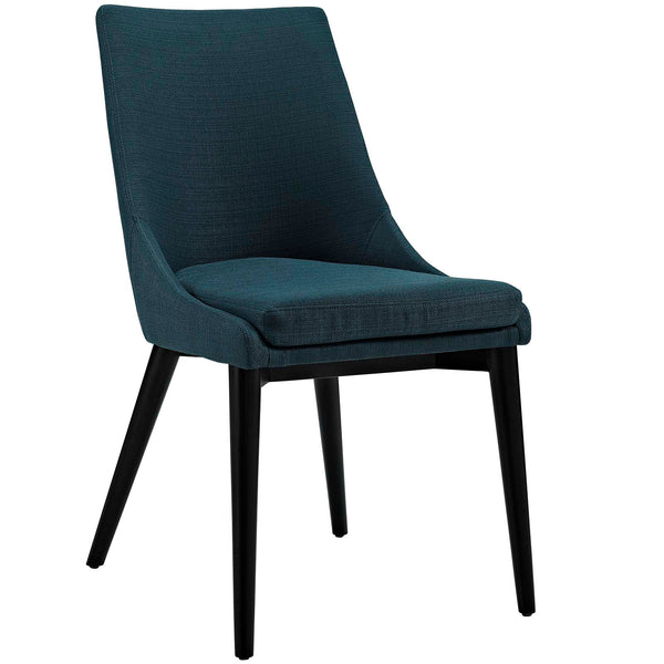 Dining Chairs - Modway EEI-2227-AZU Viscount Fabric Dining Chair | 889654065814 | Only $148.75. Buy today at http://www.contemporaryfurniturewarehouse.com