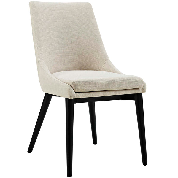 Dining Chairs - Modway EEI-2227-BEI Viscount Fabric Dining Chair | 889654065821 | Only $147.25. Buy today at http://www.contemporaryfurniturewarehouse.com