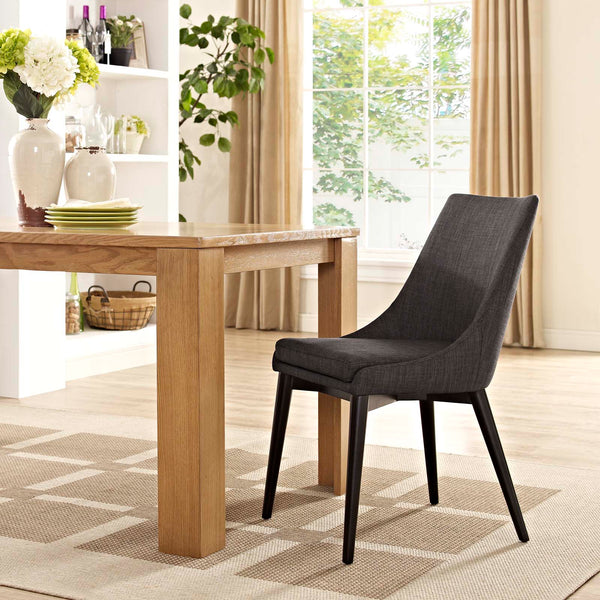 Dining Chairs - Modway EEI-2227-TEA Viscount Fabric Dining Chair | 889654065906 | Only $149.75. Buy today at http://www.contemporaryfurniturewarehouse.com