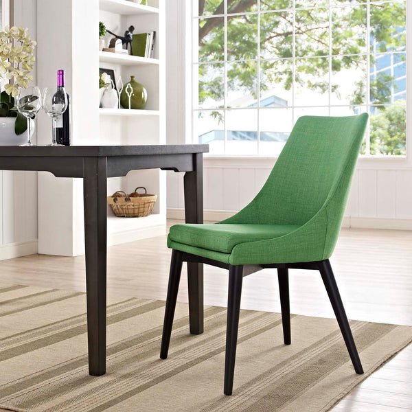Dining Chairs - Modway EEI-2227-GRY Viscount Fabric Dining Chair | 889654065869 | Only $145.00. Buy today at http://www.contemporaryfurniturewarehouse.com