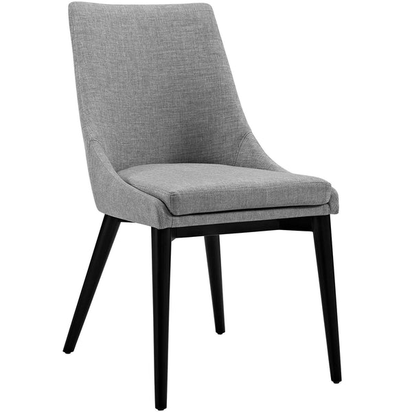 Dining Chairs - Modway EEI-2227-LGR Viscount Fabric Dining Chair | 889654065883 | Only $146.25. Buy today at http://www.contemporaryfurniturewarehouse.com