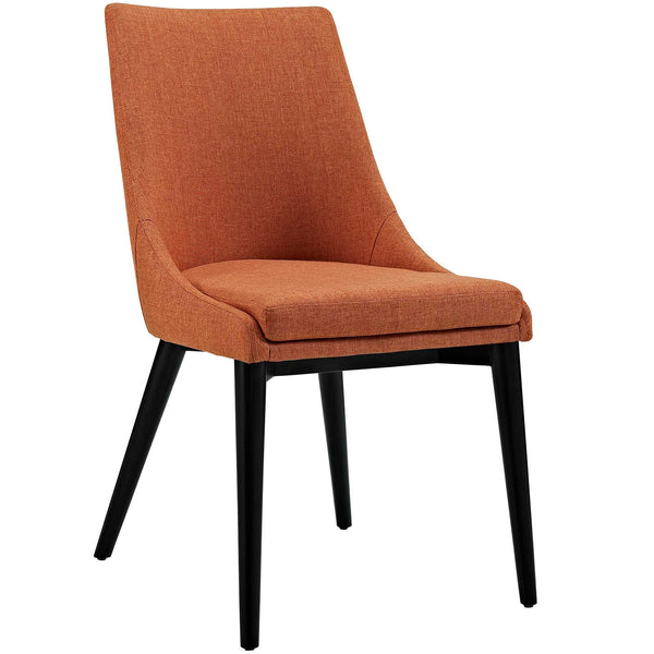 Dining Chairs - Modway EEI-2227-ORA Viscount Fabric Dining Chair | 889654065890 | Only $155.75. Buy today at http://www.contemporaryfurniturewarehouse.com