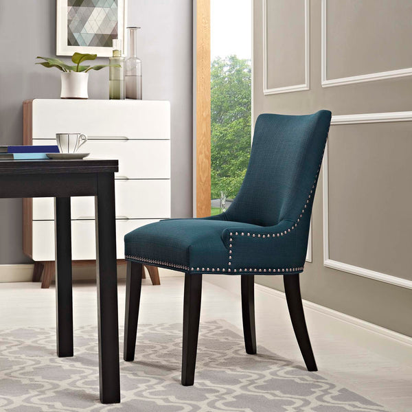 Dining Chairs - Modway EEI-2229-BRN Marquis Fabric Dining Chair | 889654065968 | Only $139.05. Buy today at http://www.contemporaryfurniturewarehouse.com