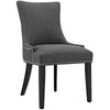 Dining Chairs - Modway EEI-2229-GRY Marquis Fabric Dining Chair | 889654065999 | Only $138.05. Buy today at http://www.contemporaryfurniturewarehouse.com