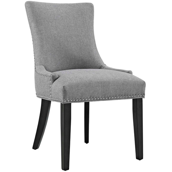 Dining Chairs - Modway EEI-2229-LGR Marquis Fabric Dining Chair | 889654066019 | Only $138.05. Buy today at http://www.contemporaryfurniturewarehouse.com