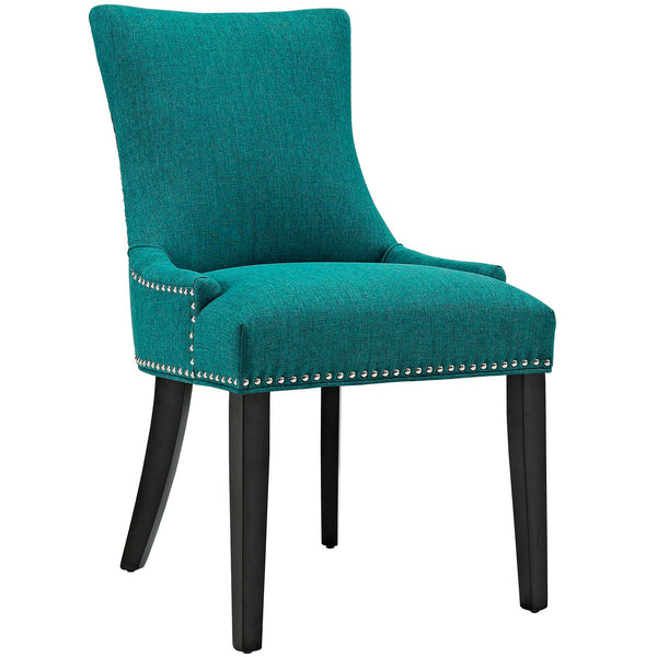 Dining Chairs - Modway EEI-2229-TEA Marquis Fabric Dining Chair | 889654066033 | Only $141.05. Buy today at http://www.contemporaryfurniturewarehouse.com