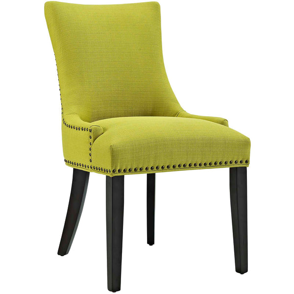 Dining Chairs - Modway EEI-2229-WHE Marquis Fabric Dining Chair | 889654066040 | Only $146.80. Buy today at http://www.contemporaryfurniturewarehouse.com