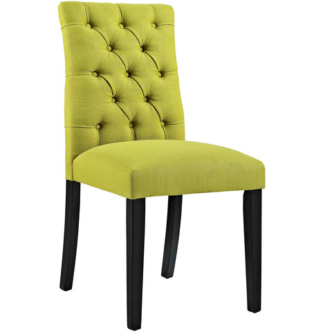 Dining Chair - Modway  Duchess Fabric Dining Chair | EEI-2231-WHE | 889654066170| $94.80. Buy it today at www.contemporaryfurniturewarehouse.com