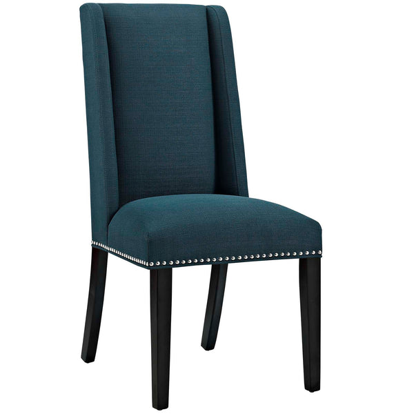 Dining Chairs - Modway EEI-2233-AZU Baron Fabric Dining Chair | 889654066200 | Only $95.25. Buy today at http://www.contemporaryfurniturewarehouse.com