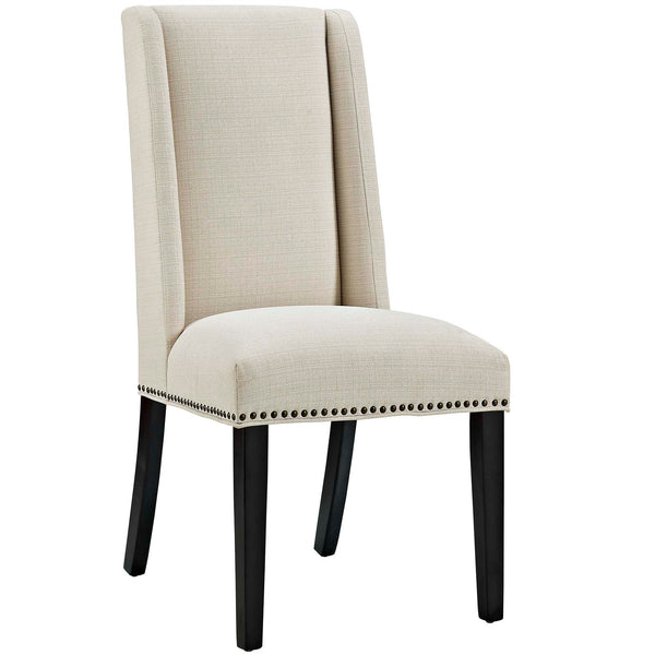 Dining Chairs - Modway EEI-2233-BEI Baron Fabric Dining Chair | 889654066217 | Only $95.25. Buy today at http://www.contemporaryfurniturewarehouse.com