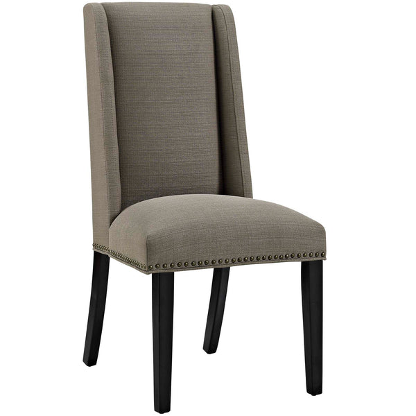 Dining Chairs - Modway EEI-2233-GRA Baron Fabric Dining Chair | 889654066231 | Only $95.25. Buy today at http://www.contemporaryfurniturewarehouse.com