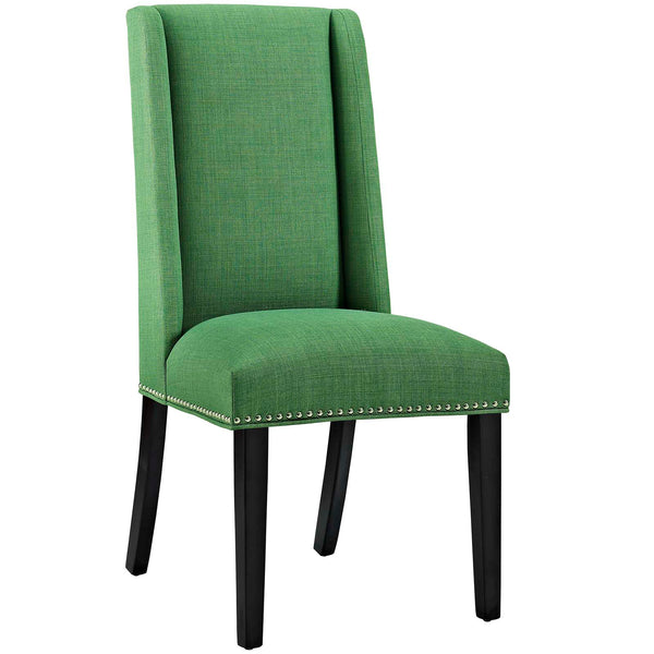 Dining Chairs - Modway EEI-2233-GRN Baron Fabric Dining Chair | 889654066248 | Only $95.25. Buy today at http://www.contemporaryfurniturewarehouse.com
