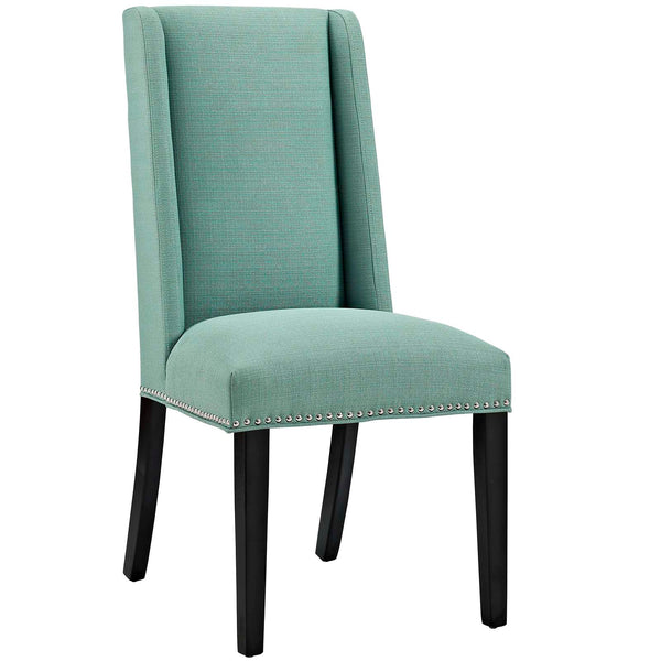 Dining Chairs - Modway EEI-2233-LAG Baron Fabric Dining Chair | 889654066262 | Only $95.25. Buy today at http://www.contemporaryfurniturewarehouse.com