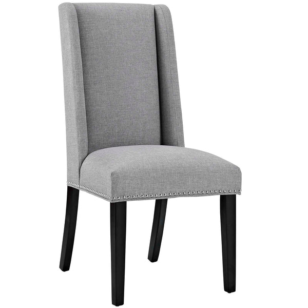 Dining Chairs - Modway EEI-2233-LGR Baron Fabric Dining Chair | 889654066279 | Only $95.25. Buy today at http://www.contemporaryfurniturewarehouse.com