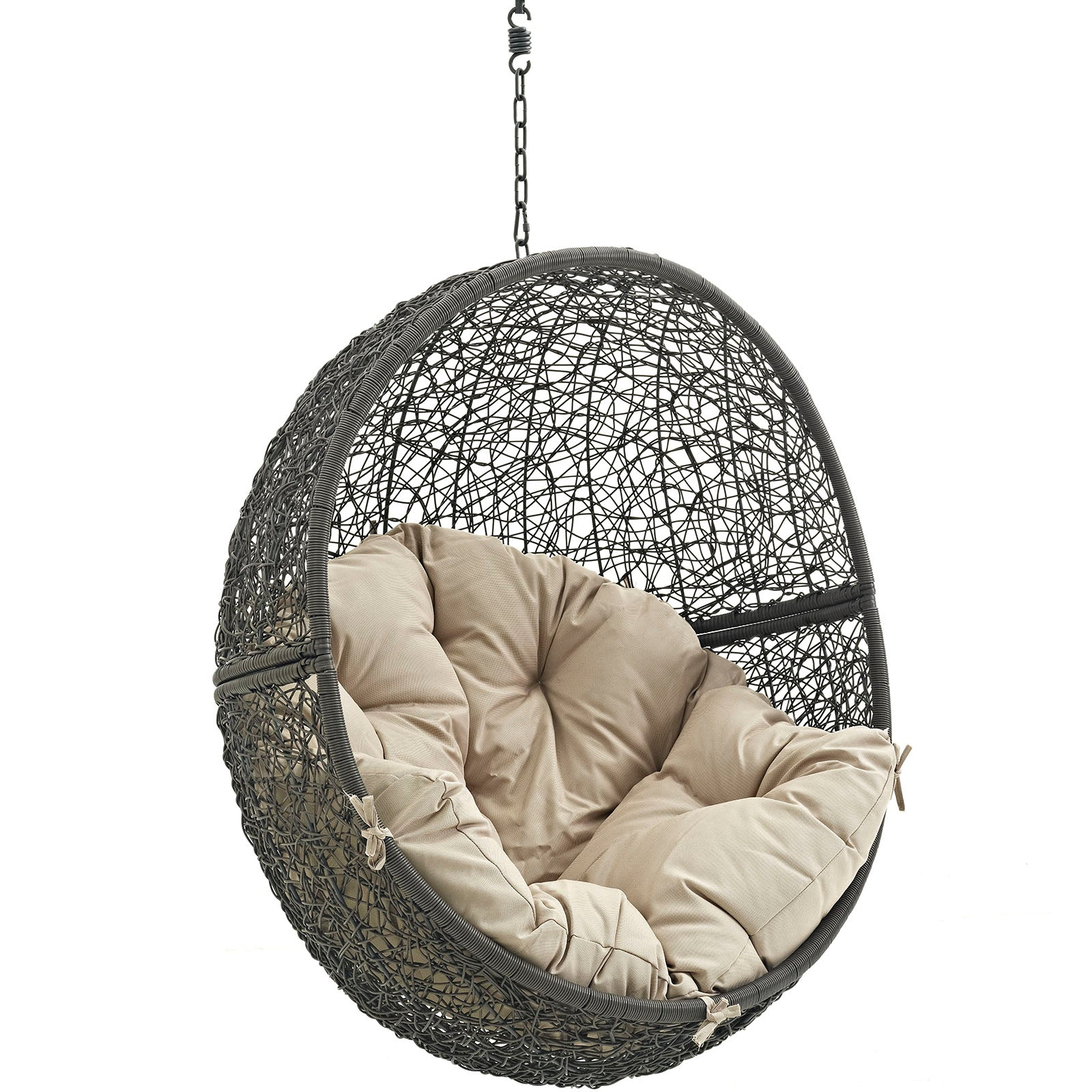 Modway Hide Outdoor Hanging Patio Swing Chair Without ...