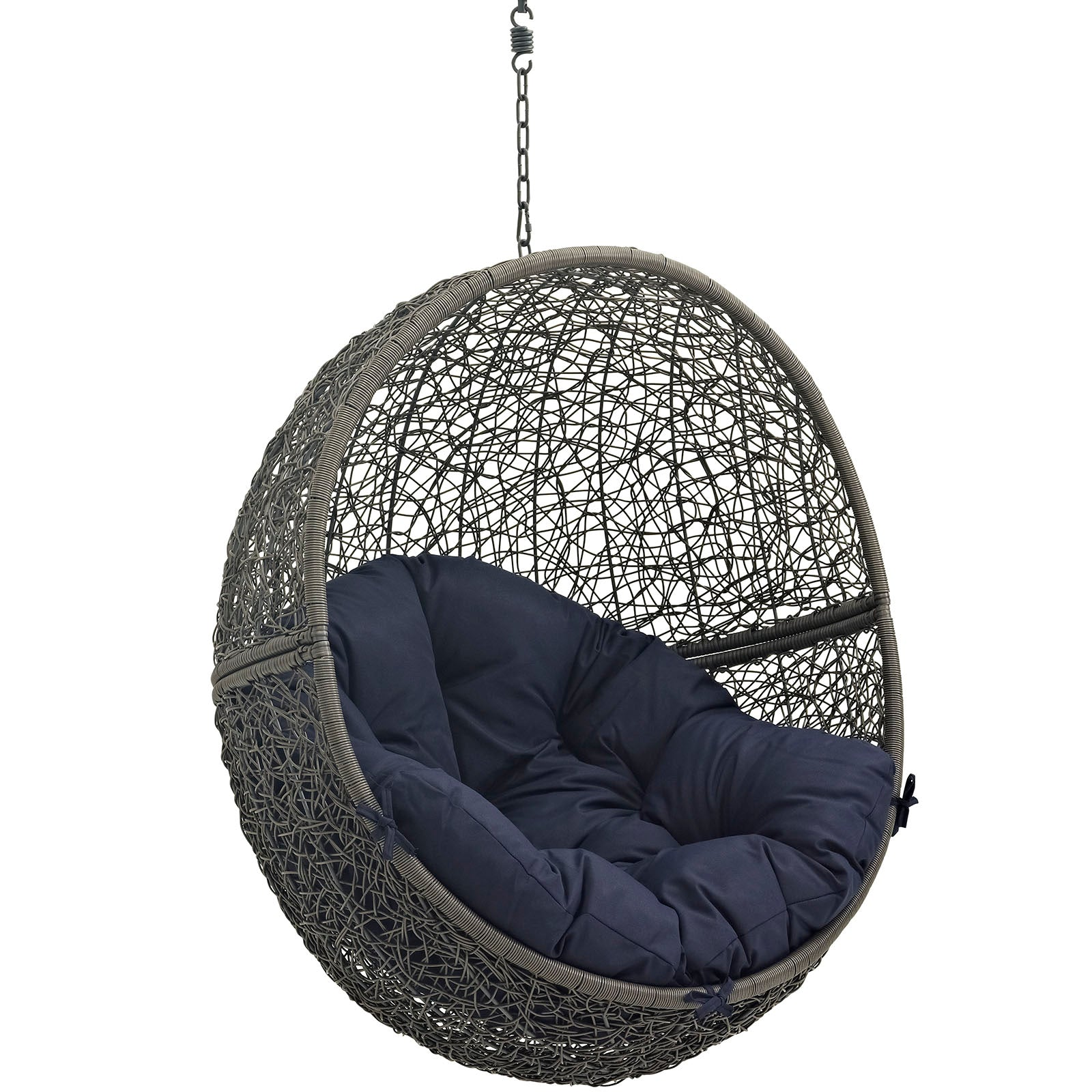 Modway Hide Outdoor Hanging Patio Swing Chair Without
