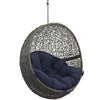 Hide Outdoor Hanging Patio Swing Chair Without Stand