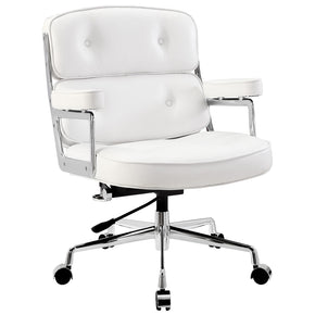 Office Chairs - Modway EEI-276-WHI Remix Office Chair | 848387005870 | Only $297.75. Buy today at http://www.contemporaryfurniturewarehouse.com