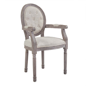 Dining Chairs - Modway EEI-2796-BEI Arise Vintage French Upholstered Fabric Dining Armchair | 889654112259 | Only $242.75. Buy today at http://www.contemporaryfurniturewarehouse.com