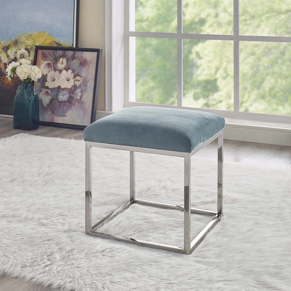 Gaze Luxurious Genuine Sheepskin Ottoman