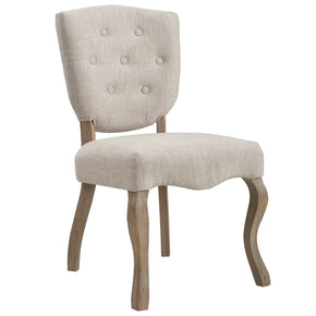 Modway EEI-2878 Array Vintage French Upholstered Dining Side Chair