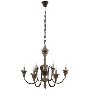 Modway EEI-2888 Bountiful Vintage French Pendant Ceiling Light Candelabra Chandelier Standard