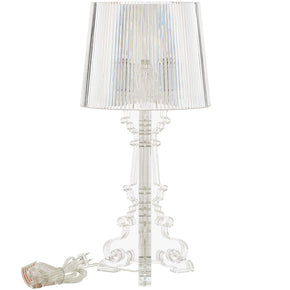 Modway EEI-2896-CLR French Petite Acrylic Acrylic Table Lamp Clear