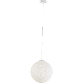 "Modway EEI-2897 Spool 16"" Pendant Light Chandelier"