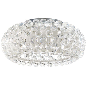 "Modway EEI-2913 Halo 19"" Acrylic Ceiling Fixture Clear"
