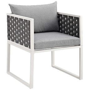 Modway EEI-3053 Stance Outdoor Patio Aluminum Dining Armchair
