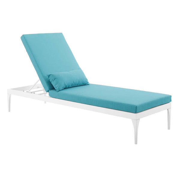 Excellent Modway Outdoor Lounge Chairs On Sale Eei 3301 Whi Cha Perspective Cushion Outdoor Patio Chaise Lounge Chair Only Only 457 80 At Contemporary Machost Co Dining Chair Design Ideas Machostcouk