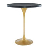 Modway EEI-3593-BLK-GLD Drive Wood Bar Table Black Gold