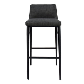 Moe's Home Collection EJ-1032-07 Baron Barstool Charcoal