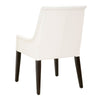 Essex Arm Chair Alabaster Top Grain Leather, Espresso