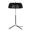 Moe's Home Collection FD-1036-02 Barrett Table Lamp Black