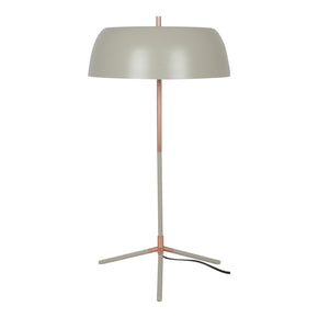 Moe's Home Collection FD-1036-15 Barrett Table Lamp Grey