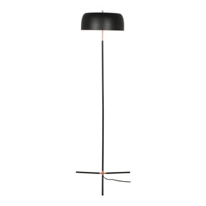 Moe's Home Collection FD-1037-02 Barrett Floor Lamp Black