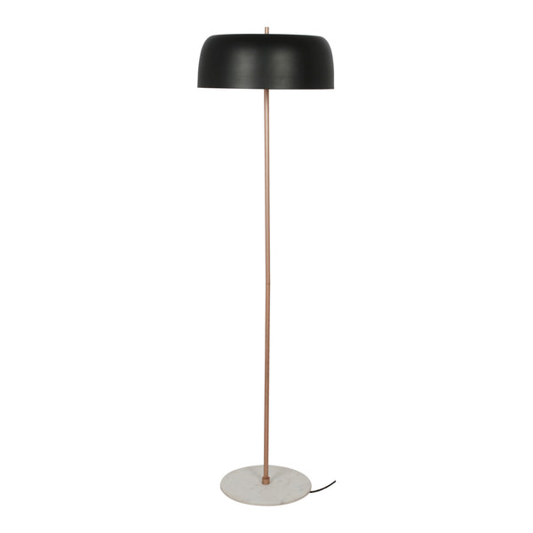 Moe's Home Collection FD-1039-02 Gilmour Floor Lamp Black